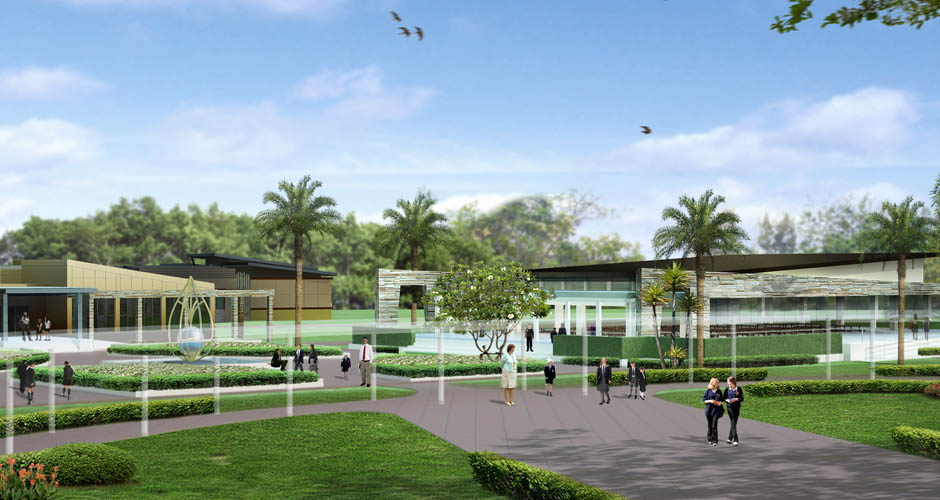 Phuket International Academy Thailand by Fenn Designers
