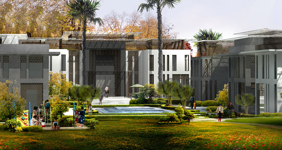 Rabat Private Development Morocco by Fenn Designers